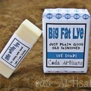 Big Fat Lye and Little White Lye Soaps