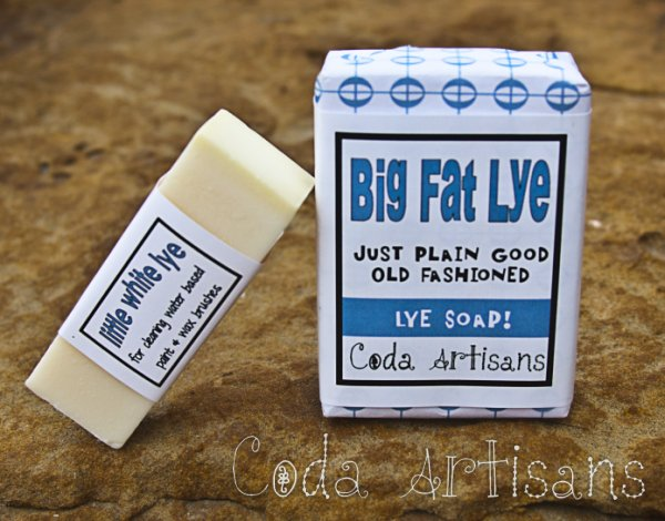 Big Fat Lye and Little White Lye Soaps